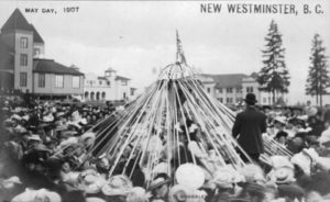 New Westminster May Pole, 1907